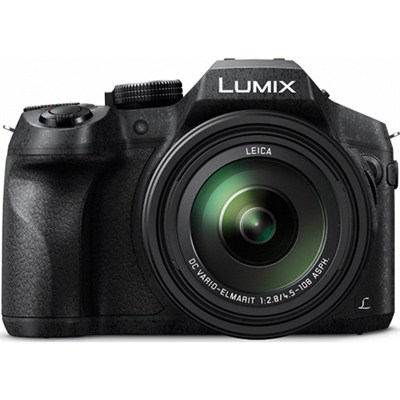 DMC-FZ300K LUMIX FZ300 4K 24X F2.8 Long Zoom Digital Camera - Black
