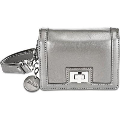 Fashion Clutch Leatherette Case (Silver)