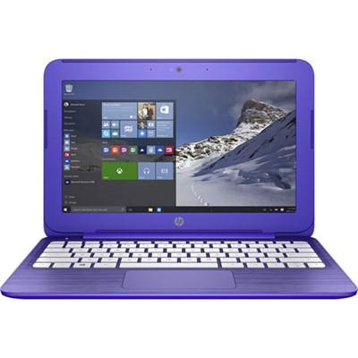 Stream 11.6` Win10 Notebook Intel N3050 Processor 2GB SDRAM Purple - Refurbished