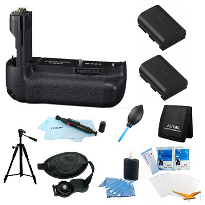 Advanced BG-E9 Battery Grip Bundle for the Canon EOS 60D