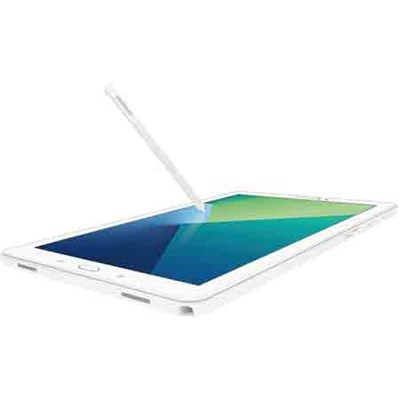 Galaxy Tab A 10.1 Tablet PC w/ S Pen, Wi-Fi & Bluetooth - White (SM-P580NZWAXAR)