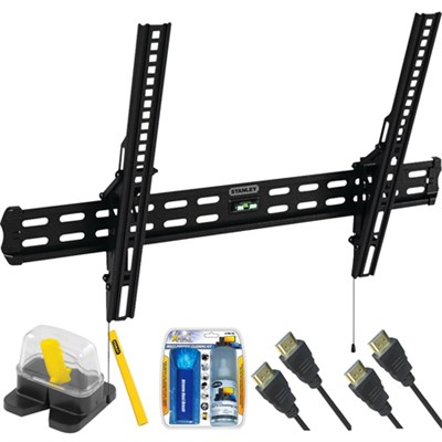 Medium Tilt TV Mount & Set Up Kit for 32`-60` TVs up to 55LB - TMR-105T