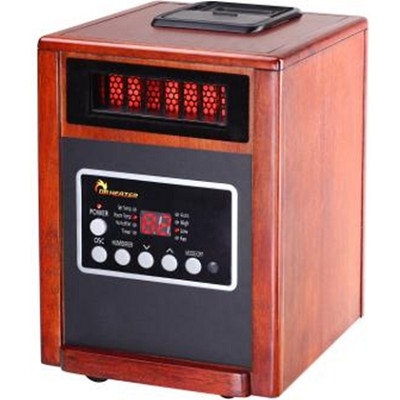 Advanced Dual Heating System with Humidifier & Oscillation Fan & Remote Control