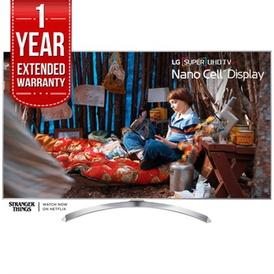 SUPER UHD 65` 4K HDR Smart LED TV 2017 Model with 1 Year Extended Warranty