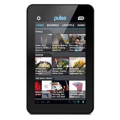 Genesis 7` Google Android 4.0 Multimedia Tablet w/ Front Web Cam & Wi-Fi Refurb