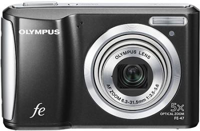 FE-47 14MP 2.7` LCD Digital Camera (Black)