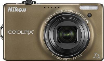 COOLPIX S6000 14.2 Megapixel Digital Camera (Bronze)