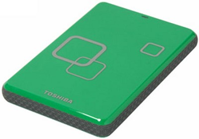 DS TS 1TB Canvio HD USB 2.0 Portable External Hard Drive - Komodo Green