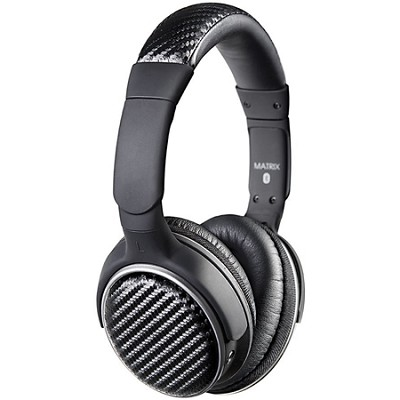 Air-Fi Matrix2 AF62 Stereo Bluetooth Wireless Headphones w/ Headset Functions