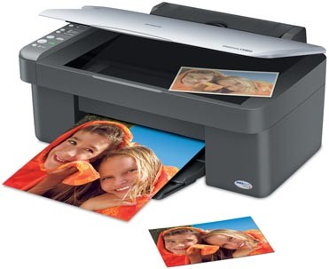 Stylus CX3810 All-In-One Printer, Copier, and Scanner