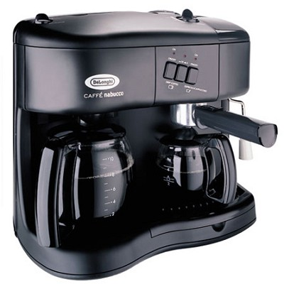 DeLonghi Combo Coffee/ Espresso/Cappuccino