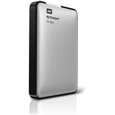 My Passport for Mac 500 GB USB 2.0 Portable Hard Drive Refurbished