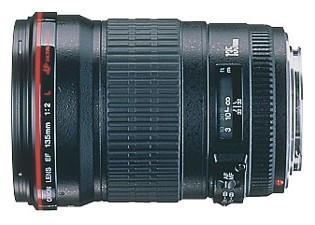 135mm f/2.0L USM Telephoto Lens for Canon SLR Cameras