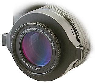 DCR-250 Super Macro Lens w/ 52-67 snap on adaptor