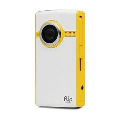 Flip Ultra Camcorder 2nd Generation, 120 Minutes - Yellow