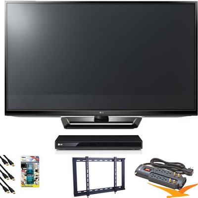 50PA4500 50` Class 720p Plasma HD TV Blu Ray Bundle