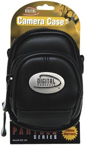 Ultra-Compact Carrying Case for Digital Cameras DC-60 (Black)