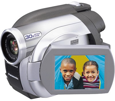 VDR-D100 DVD Camcorder With 30x Optical Zoom, 2.5` LCD OPEN BOX