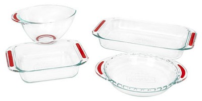 Accents Collection 4-Piece Bakeware Set