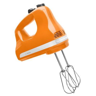 5-Speed Ultra Power Hand Mixer in Tangerine - KHM512TG