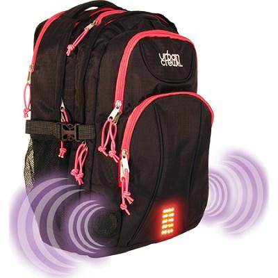 Urban Crew Laptop Backpack - Red/Black