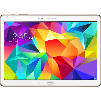 Galaxy Tab S 10.5` Tablet - (16GB, WiFi, Dazzling White) - OPEN BOX