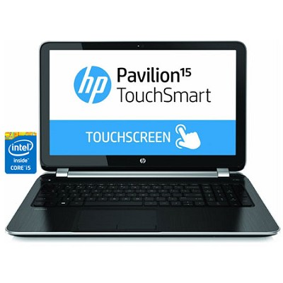 Pavilion TouchSmart 15.6` 15-n280us Notebook PC - Intel Core i5-4200U Processor
