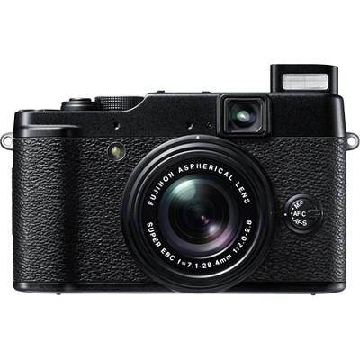 X10 12 MP EXR CMOS Digital Camera with f2.0-f2.8 4x Optical Zoom Lens OPEN BOX