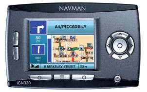 iCN 320 in-car/handheld GPS Navigation Receiver