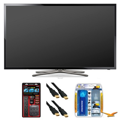 UN40F5500 40` 60hz 1080p WiFi LED Slim Smart HDTV Surge Protector Bundle