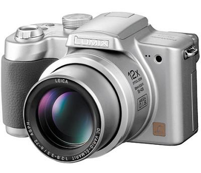 Lumix DMC-FZ4S Digital Camera, (Silver)