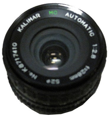 28mm f2.8 Automatic Multi-Coated wide Angle Macro - OPEN BOX