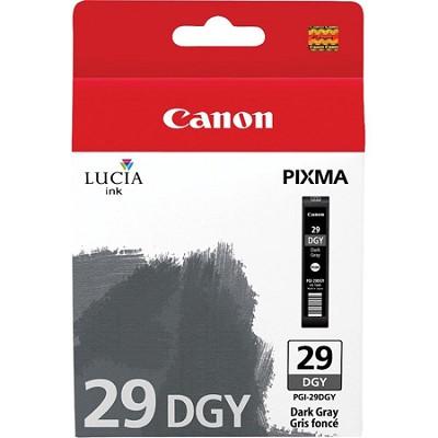 PGI-29 DGY - LUCIA Series Dark Gray Ink Cartridge for Canon PIXMA PRO-1 Printer