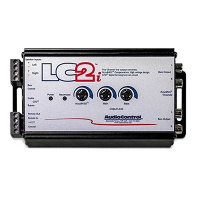 LC2i Two Channel Line Out Converter with Accubass & Subwoofer Control