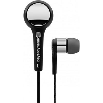 DTX 102 iE Black / Silver Premium In-Ear Headphones