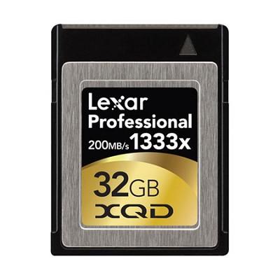 32 GB Professional 1333x XQD Memory Card