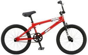 Mischief 20` Freestyle BMX Bike - Red
