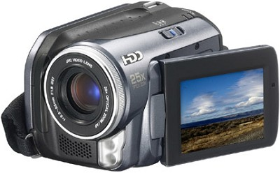 GZ-MG20 Everio Digital Media Camera With 20GB Hard Drive & 25x Optical Zoom