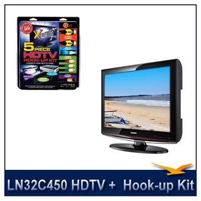 LN32C450 - HDTV + High-performance HDTV Hook-up & Maintenance Kit
