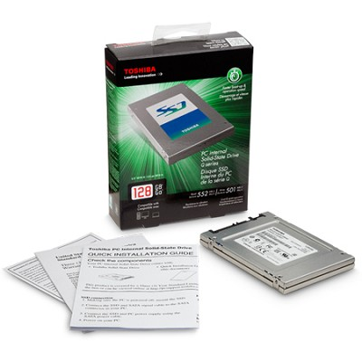 HDTS212XZSTA Q-Series 128GB Internal Serial ATA III Solid State Drive for Laptop