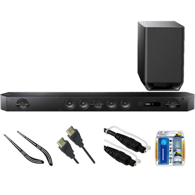Hi-Res 7.1 Channel Sound Bar with Wireless Subwoofer HT-ST9 w/ Bracket Kit