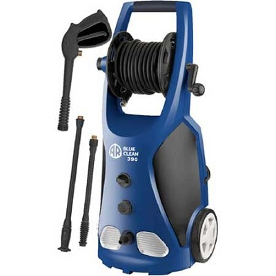AR390 1,800 PSI 1.6 GPM 14 Amp Electric Pressure Washer With Hose Reel