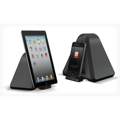 Soma Stand - Portable Stereo Speaker Dock for iPod, iPhone & iPad - OPEN BOX