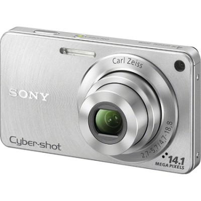 Cyber-shot DSC-W350 14.1 MP Digital Camera (Silver)