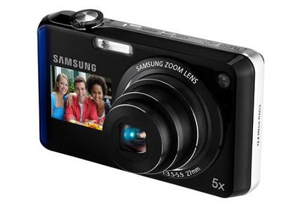 TL210 DualView 12MP Digital Camera (Blue) - OPEN BOX