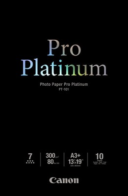 Photo Paper Pro Platinum 13` X 19` - 10 Sheets