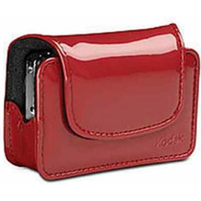Kodak EASYSHARE Digital Camera Case Chic Patent Leatherette Red