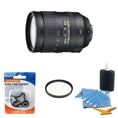 2191 - 28-300mm f/3.5-5.6G ED VR AF-S NIKKOR Lens With Filter Kit