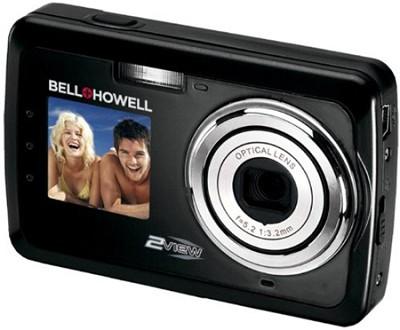 2View 12 MP Dual LCD Digital Camera - Black