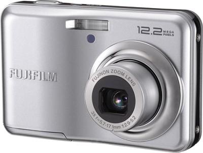 Finepix A220 12 MP 3x Zoom Digital Camera (Silver)
